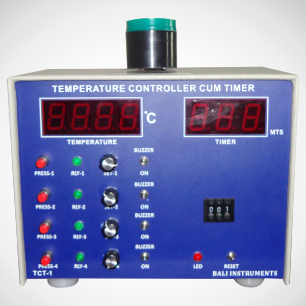 Four set point temperature controller cum timer