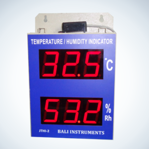 TEMPERATURE/HUMIDITY INDICATOR