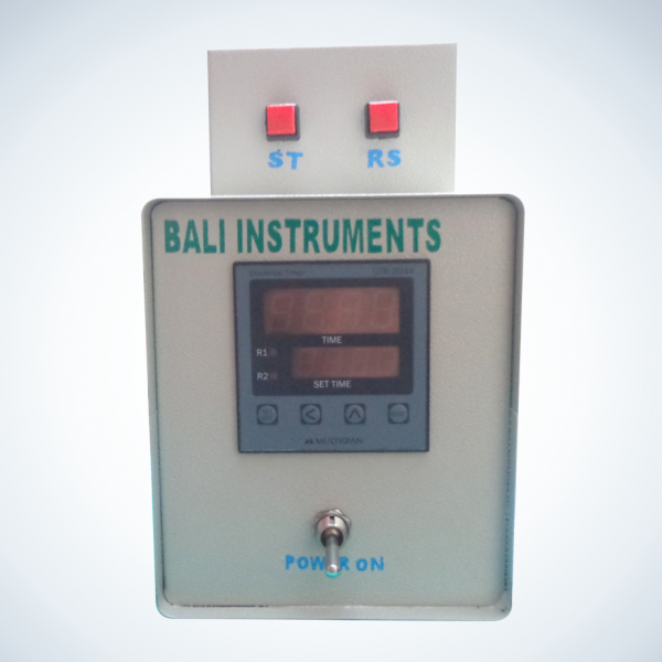 Digital timer with control panel