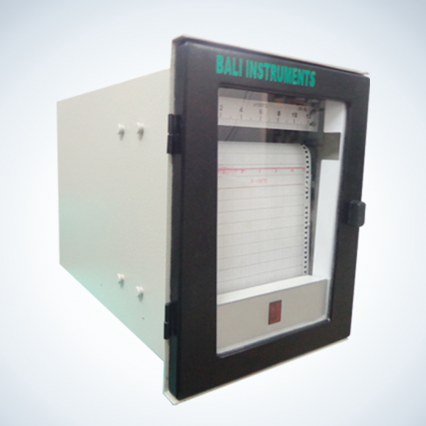 Strip Chart Temperature Recorder